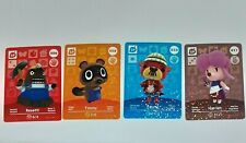 Animal Crossing Amiibo Cards Series 1 / 006 , 008 Timmy 010 Pascal 011 Harriet