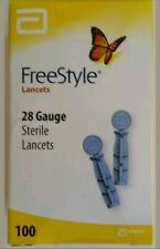 100 Count Freestyle Lite 28G Lancets Exp. 04/2023 New Sealed Box