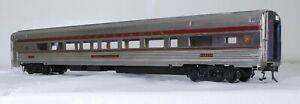 Sunset Models Streamlined Parlor Car - Pennsylvania - O Scale, 2-rail.  Brass.