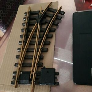 LGB Track Manual Switch right R1 - G Gauge 12100