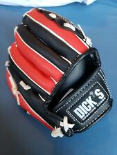 Child' Softball/Baseball Glove-Red & Black. Right handed, worn on left hand