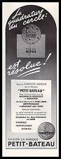 Publicité sous- Vetement PETIT  BATEAU  Marinette ad 1938 - 2i