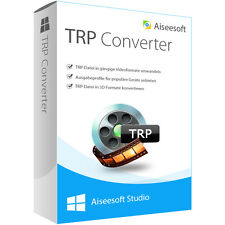TRP Converter WIN Aiseesoft dt.Vollversion lebenslange Lizenz  ESD Download !!