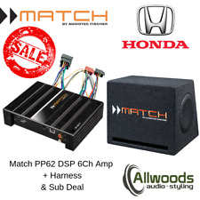 Match Amp and Sub Package PP62DSP+PP 7E-D + FREE PP-AC Harness Honda Odyssey