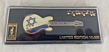 1996 Atlanta Summer Olympics Guitar Pin Israel Limited w/ Case Imprinted Prod.