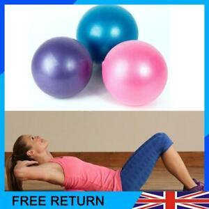 25cm Small Yoga Ball Non-Slip Balance Fitness PVC Training Exercise Pregnancy UK