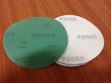 """P1200 hook & loop abrasive discs  125mm Plain   Pack (10)   5"""" Sanding Film Pads"""