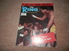 The Ring Boxing Magazine Cassius Clay Muhammad Ali Cover July 1972