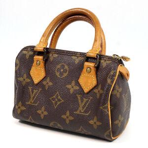 LOUIS VUITTON Handbag Mini speedy Monogram canvas M41534 20281807