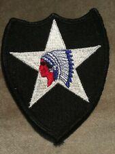 Vintage WW 2 Second Infantry Division Uniform Patch