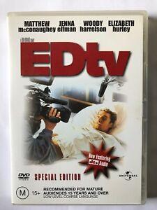 ED tv (1999, Region 4 DVD, Matthew McConaughey, Jenna Elfman, Woody Harrelson)
