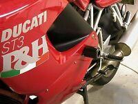 R&G RACING Crash Protectors, Ducati ST3 *BLACK*