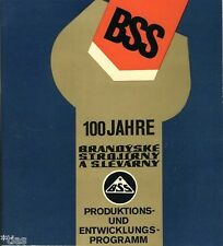 100 Jahre BSS Brandýske Strojírny Slévárny Maschinenbau Brandys Tschechien 1975