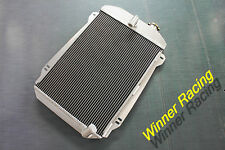 Aluminum Radiator For CHEVY HOT/STREET ROD 6 CYLINDER W/TRANNY COOLER Auto 1939