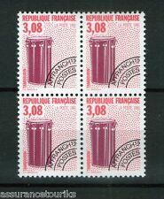 PRÉOBLITÉRÉS - 1990 YT 218 - bloc de 4 - TIMBRES NEUFS** LUXE
