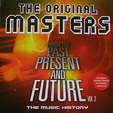 THE ORIGINAL MASTERS From the Past Present & Future Vol 2 EXTENDED TRACKS CD NEW