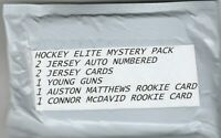 Hockey ELITE  Mystery Packs, ,INCL.AUSTON MATTHEWS-CONNOR McDAVID RC READ PLEASE