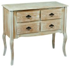 French Style Vintage Distressed Shabby Chic 4 drawer chest