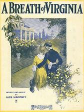 BREATH OF VIRGINIA Music Sheet-1920-MAHONEY-R S Artwork