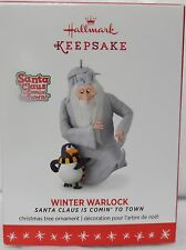 Hallmark 2016 WINTER WARLOCK Santa Claus is Coming to town ornament NEW IN BOX