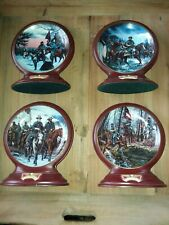 Bradford Excha 00004000 nge Tales Of The Civil War Collector Plate Set Of 4