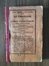 """""""Le tristezze"""" di Publio Ovidio Nasone- 1842"""