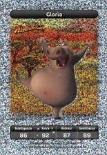 Carte Carrefour Dreamworks - Madagascar - Gloria - Carte Titane  N° 86