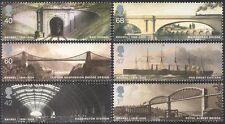 GB 2006 Brunel/Bridges/Steam/Trains/Ship/Transport/Railway/People 6v set n28679