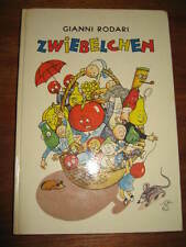 (e66) vecchio libro per bambini zwiebelchen Gianni Rodari/Paul Verdini libro per bambini EDITRICE 72