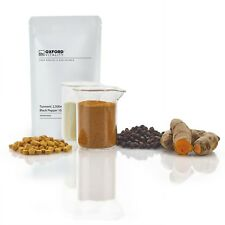 Turmeric and Black Pepper 2,500mg & 10mg Tablets : Curcumin Piperine Extract