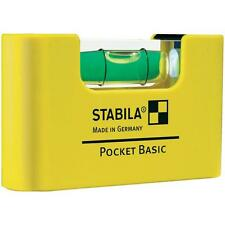 Stabila 17773 pocket basic mini électriciens commutateur niveau à bulle stbpocketbas