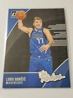 2018-19 Panini Donruss The Rookies Luka Doncic #3 Dallas Mavericks Star