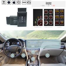 ELM327 WiFi OBD2 OBDII Auto Car Engine Diagnostic Scanner Fault Code Reader Tool