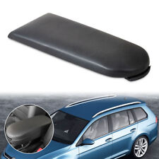 Black Leather Center Console Armrest Cover Lid fit for VW Jetta Golf MK4 Beetle