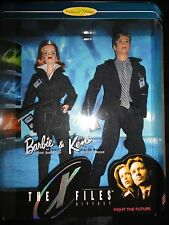 X Files Barbie Doll Giftset NRFB MIB