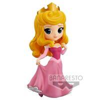 Official Disney Aurora Pink Dress Q Posket Princess Figurine 82455 Banpresto NEW