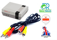 Nintendo NES AV Cable TV Lead Composite Video Audio RCA - UK Fast Free Post