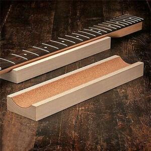 Guitar Neck Fingerboard Rest Support Holder Caul Luthier Tool U-block Soft Pad