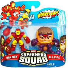 MARVEL Superhero Squad-Iron Man & m.o.d.o.k. ACTION FIGURE
