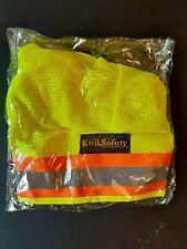 Kwiksafety Vader Hard Hat Sun Shade Neck Shade Yellow Orange
