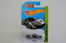 2015 HOT WHEELS  McLaren P1 - Silver