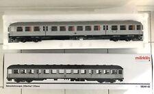 Märklin 58341-02 PersonenwagenSILBERLING Nahverkehrswagen DB Spur 1 NEU und OVP