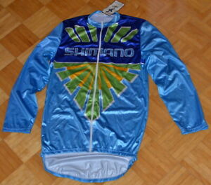 NOS, Shimano long sleeve jersey, size 4