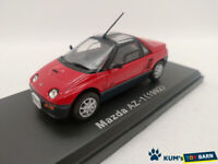 1:43 NOREV Hachette Domestic Famous Car Collection Mazda AZ-1 (1992) Red