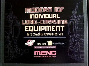 Meng Models 1:35 Modern IDF Load-Carrying Equipment Resin Model Kit