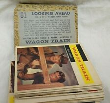 1958 Topps Gum Co. Western TV Show & Stars Trading Cards 49 Different!