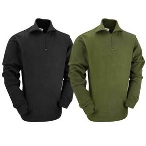 British Norwegian Army Sweater Top Jumper Military Winter Camping Field Shirt