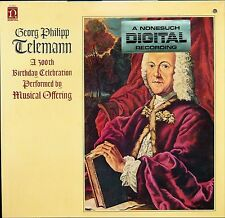 GEORG TELEMANN MUSICAL OFFERING 300TH BIRTHDAY CELEBRATION NS79022 SEALED LP DJ