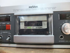 Revox B 710 MK II Dust Cover Abdeckung Frontabdeckung CLEAR black 3D NEU Nachbau