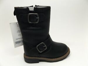Carter's Girl's Aqion2 Black Synthetic Riding Boot TODDLER SZ 5 T, NEW, 13898